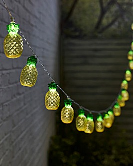 Pineapple Solar String Lights