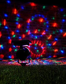 Set of 2 Carnival Solar Spotlights