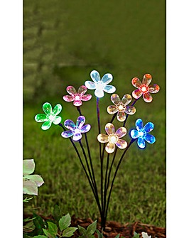 Solar Flower Bloom Light