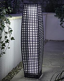 Rattan Solar Lamp