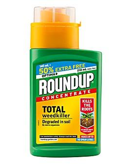 Roundup Optima+ Weedkiller 140ml+50%
