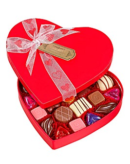 Luxury Heart Box With Chocolates