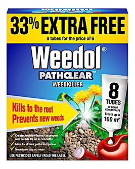 Weedol Pathclear 6+2 Tubes