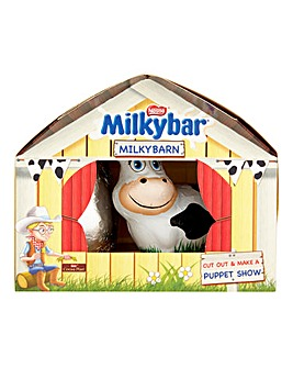 Milkybar Easter Egg Cow Shed