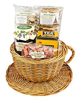 St Kew Teacup Gift Basket