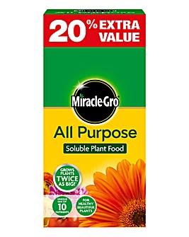Miracle-Gro Plant Food 1K+20% Twin Pack