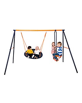 Hedstrom Nebula Glider and Tyre Swing