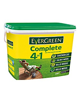 EverGreen Complete Lawn Feed 150m Tub