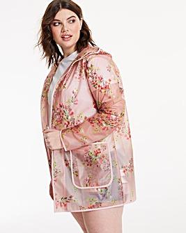 Printed Opaque Rain Jacket