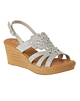 LOTUS LUDISA WEDGE SANDALS