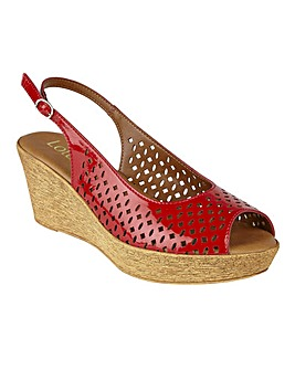 LOTUS NILE WEDGE SANDALS