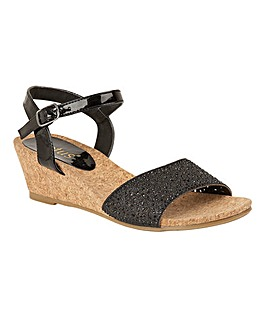 LOTUS LUGALO WEDGE SANDALS
