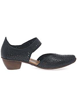 Rieker Pip Womens Open Court Shoes