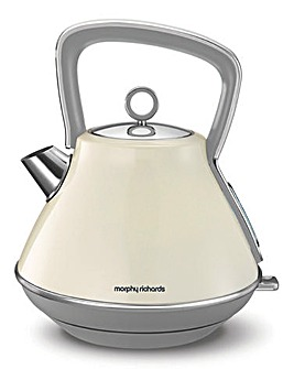 Morphy Richards Evoke Cream Kettle