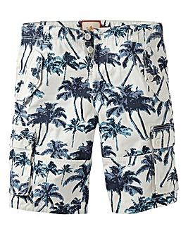 Joe Browns Palm Print Cargo Short