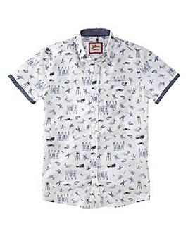 Joe Browns Conversational Surf Shirt L