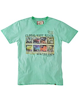 Joe Browns Global Wave T-Shirt Reg