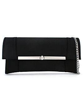 Daniel Afleck Satin Envelope Clutch Bag