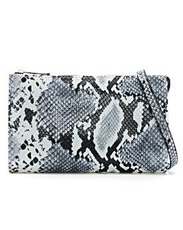 Armani Jeans Reptile Cross-Body Bag