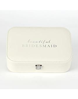 Beautiful Bridesmaid Jewellery Box