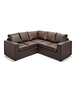 Alicante Faux Leather Corner Group