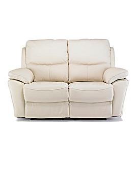 Arezzo Leather 2 Seater Recliner Sofa