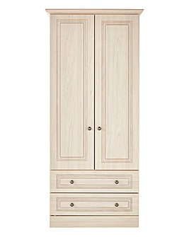 Aragon 2 Door 2 Drawer Wardrobe