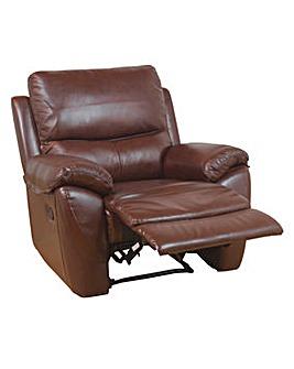 Bentley Leather Recliner Armchair