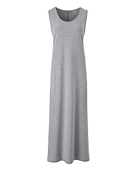 Sleeveless T-Shirt Maxi Dress