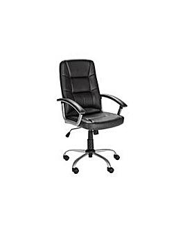 Walker Height Adjust Office Chair Black