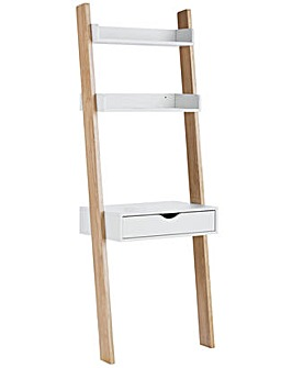 HOME Ladder Desk - White