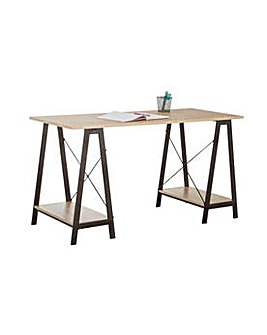 HOME Large Trestle Table Desk