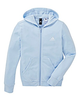 adidas Youth Girls Hood Cotton Tracksuit