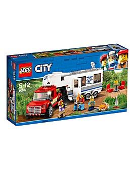 LEGO City GV Pickup & Caravan