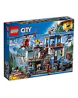 LEGO City Mountain Police Headquarters