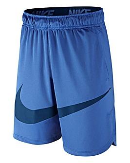 Nike Older Boys Blue Vent Swoosh Shorts