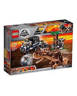 LEGO JW Carnotaurus Gyrosphere Escape