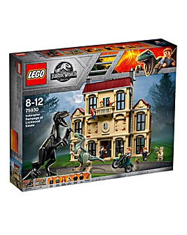 LEGO Indoraptor Rampage at Lockwood