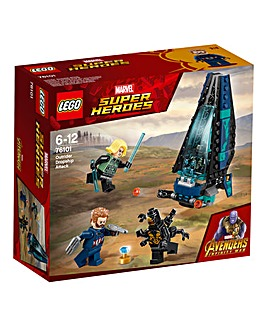 LEGO Marvel Outrider Dropship Attack