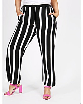 Lovedrobe GB Stripe Crepe Trousers