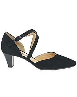 Gabor Callow Womens Strappy Court Shoes