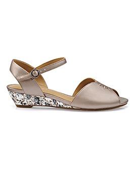 Hotter Hallie Peep Toe Sandal