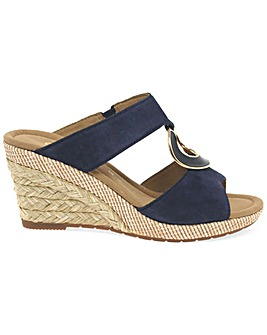 Gabor Sizzle II Womens Wedge Sandals