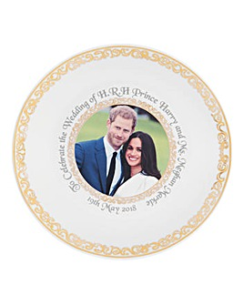 Royal Wedding Bone China Plate 20cm