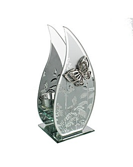 Hestia Mirror Butterfly Tealight