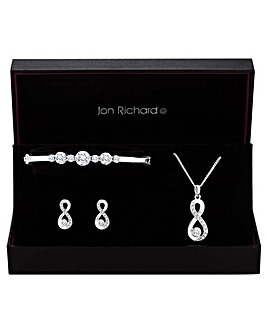Jon Richard Infinity Jewellery Set