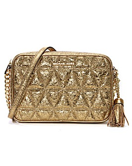 Michael Kors Quilted Leather Camera Bag