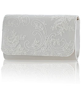 Perfect Laurel Lace Clutch Bag