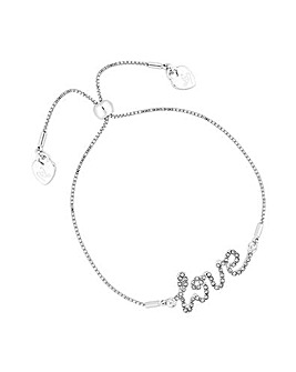 Lipsy Love Toggle Bracelet