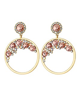 Lipsy Hoop Drop Earring